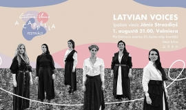 Фестиваль «Latvian Voices a cappella» в Валмиере