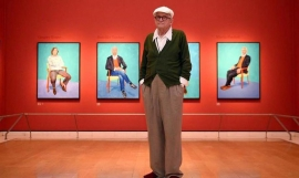 Фильм-выставка: David Hockney at The Royal Academy of Arts